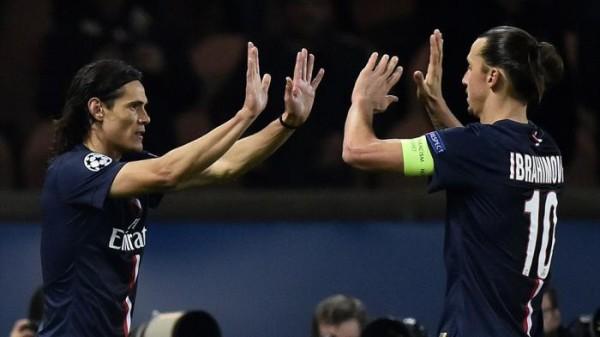 Duet Ibrahimovic-Cavani Dipuji Oleh Blanc
