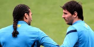 Reuni, Pinto dan Messi Lepas Kerinduan dengan Bertemu