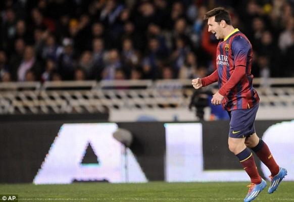 Messi Pemain Terbaik Sepanjang Masa