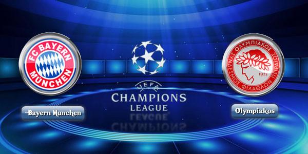 Prediksi Bayern Munchen Vs Olympiakos