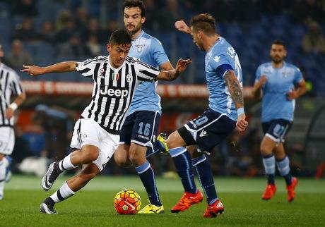 Juventus Tundukan Lazio 2-0