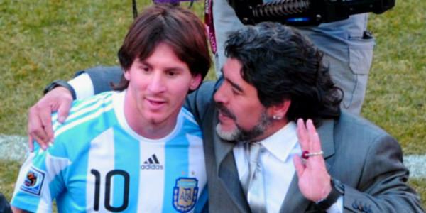 Maradona Telah Menjadi Inspirasi untuk La Pulga