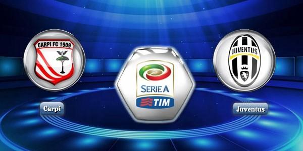 Prediksi Carpi vs Juventus