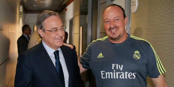 Presiden Madrid Beri Dukungan Langsung pada Benitez