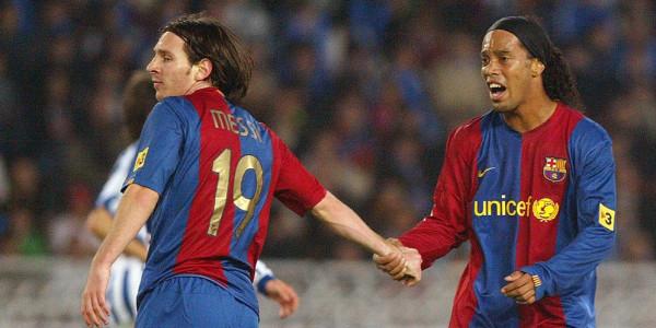 Ronaldinho Sebut Messi Lebih Baik dari Dirinya