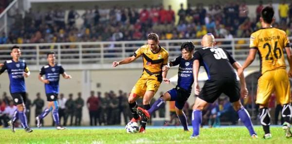 Patrick Dos Santos Berjanji Terus Cetak Gol Untuk Mitra Kukar