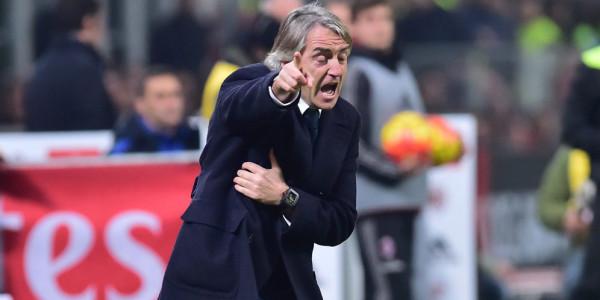 Menghina Wasit dan Fans Milan, Mancini Dihukum Satu Laga