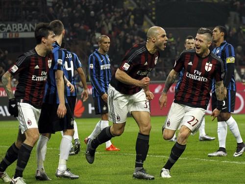 AC Milan Bantai Inter Milan Tiga Gol Tanpa Balas