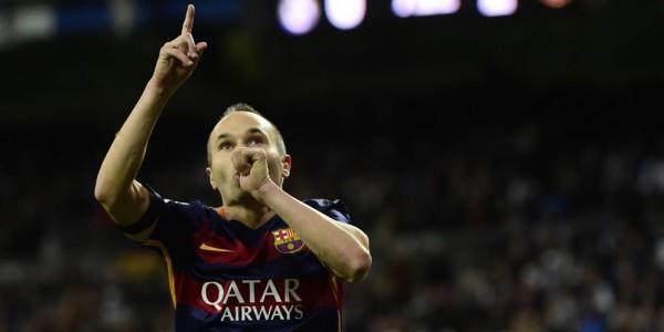 Iniesta Terpilih Sebagai Atlet Terbaik Spanyol